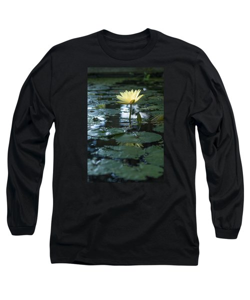 Yellow Lilly Tranquility Long Sleeve T-Shirt