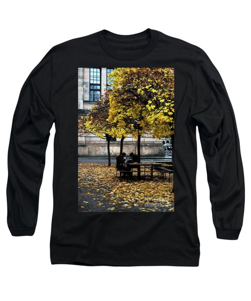 Yellow Lunch Long Sleeve T-Shirt