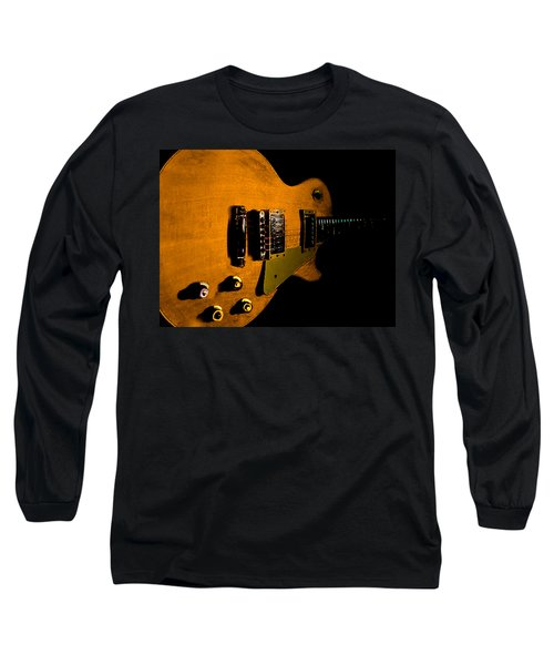 Yellow Relic Guitar Hover Series Long Sleeve T-Shirt