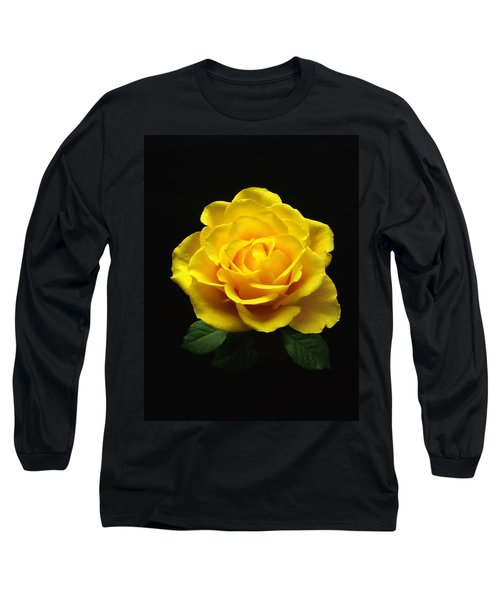 Yellow Rose 6 Long Sleeve T-Shirt