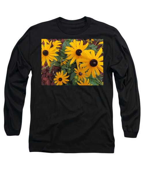 Yellow Stant Out Long Sleeve T-Shirt