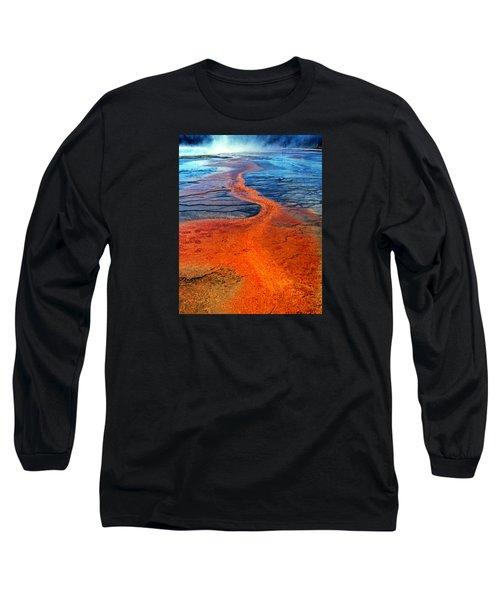 Yellowstone 1 Long Sleeve T-Shirt by David Gilbert