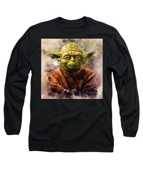 Yoda Art Long Sleeve T-Shirt