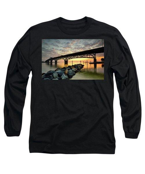 York River Sunrise Long Sleeve T-Shirt