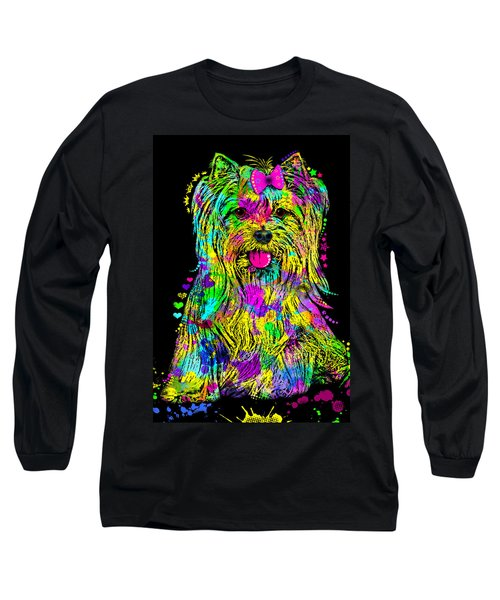 Yorkie Beauty Long Sleeve T-Shirt