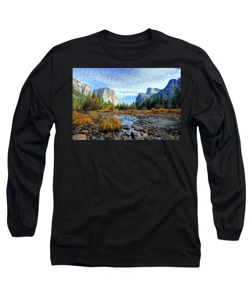 Yosemite Valley View Long Sleeve T-Shirt