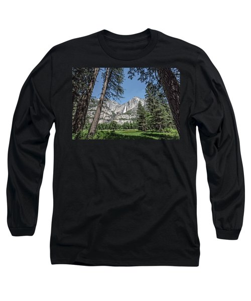 Yosemite View 13 Long Sleeve T-Shirt by Ryan Weddle