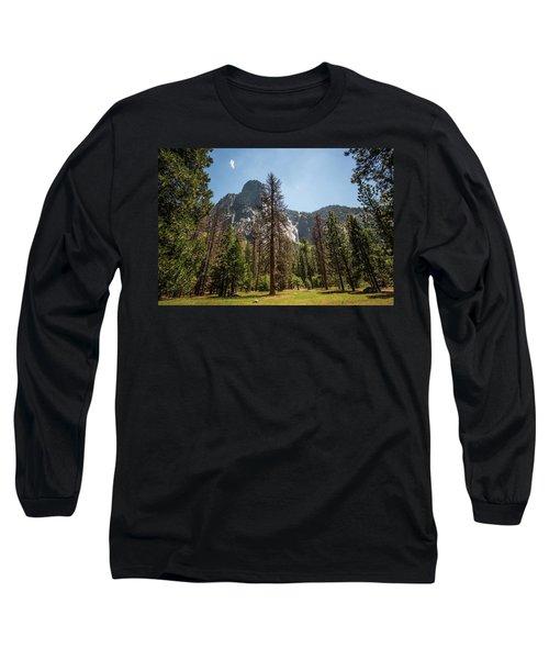 Yosemite View 18 Long Sleeve T-Shirt by Ryan Weddle