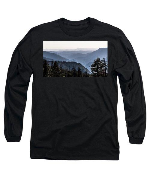 Yosemite View 27 Long Sleeve T-Shirt by Ryan Weddle