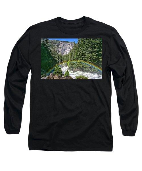 Yosemite View 29 Long Sleeve T-Shirt by Ryan Weddle