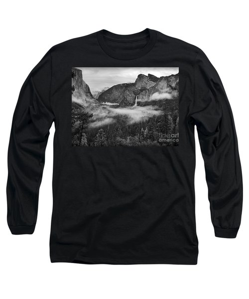 Long Sleeve T-Shirt featuring the photograph Yosemite Wawona Cloudscape by Martin Konopacki