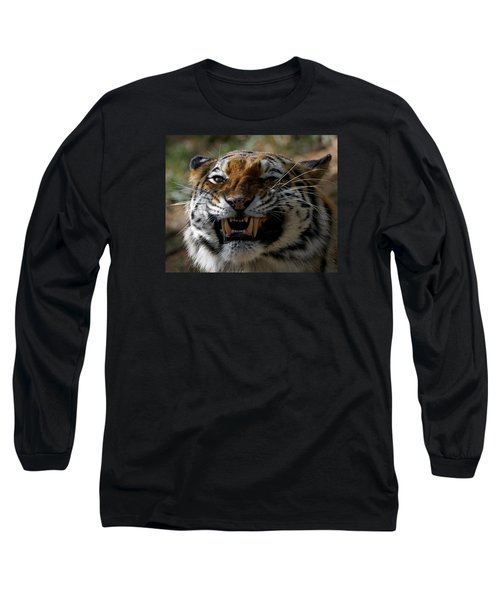 You Are Next Long Sleeve T-Shirt by Ernie Echols
