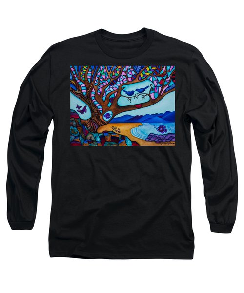 Love Is All Around Us Long Sleeve T-Shirt
