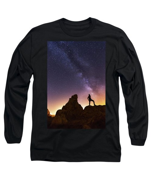 You Cant Take The Sky From Me Long Sleeve T-Shirt by Tassanee Angiolillo