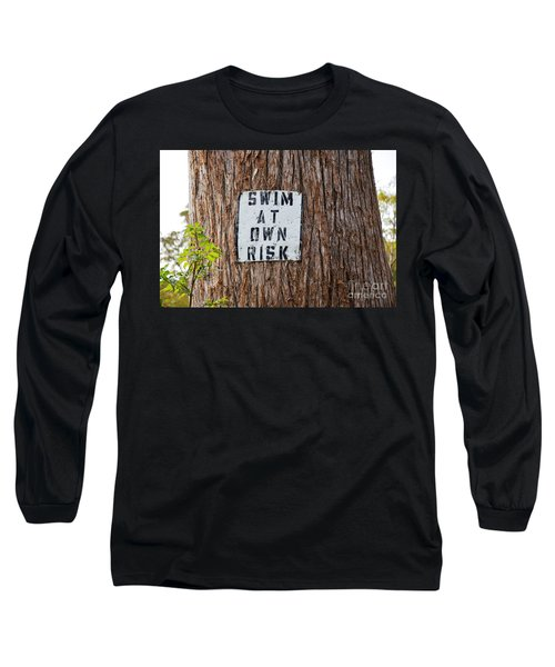Long Sleeve T-Shirt featuring the photograph You Know Better ...  by Ray Shrewsberry