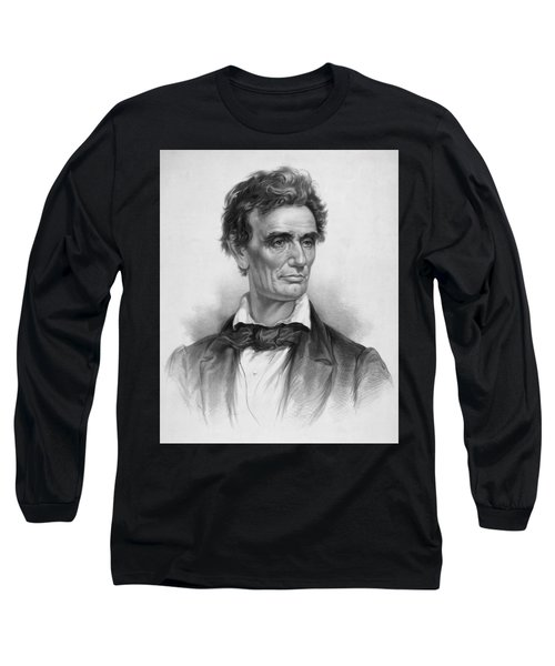 Young Abe Lincoln Long Sleeve T-Shirt
