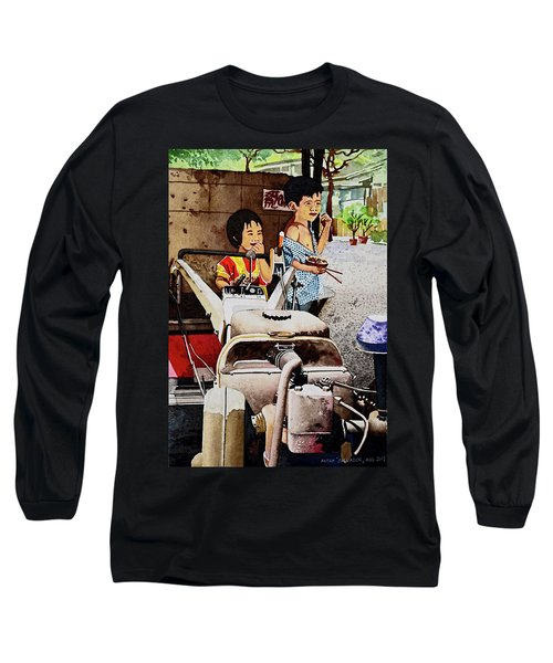 Young Farmer's Breaktime Long Sleeve T-Shirt