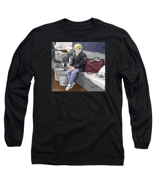 Young Fisherman Long Sleeve T-Shirt