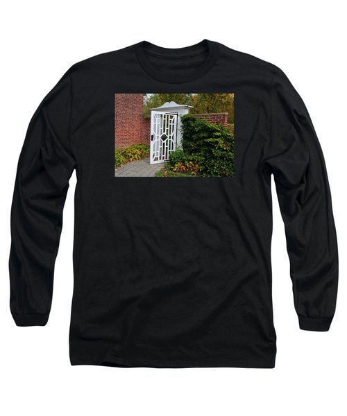 Long Sleeve T-Shirt featuring the photograph Your Next Chapter by Michiale Schneider