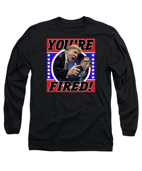Long Sleeve T-Shirt featuring the photograph You're Fired by Don Olea