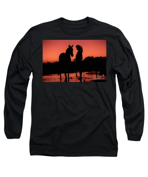 Long Sleeve T-Shirt featuring the photograph Youth by Jim and Emily Bush