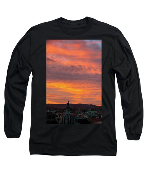 Zagreb Sunset 5 Long Sleeve T-Shirt