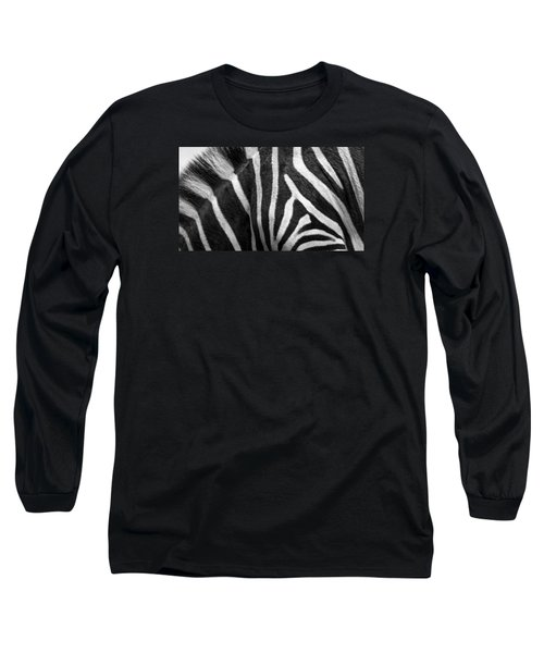 Zebra Stripes Long Sleeve T-Shirt