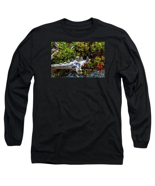 Zen Long Sleeve T-Shirt by Alana Thrower