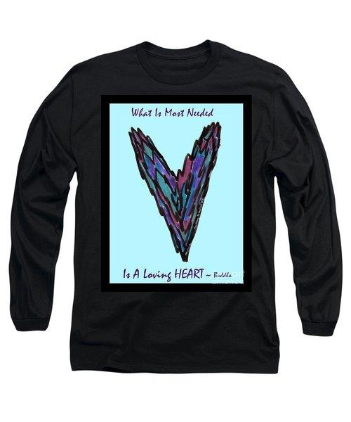 Zen Hearts In Betweens Long Sleeve T-Shirt