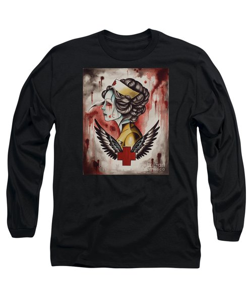 Zombie Nurse Long Sleeve T-Shirt