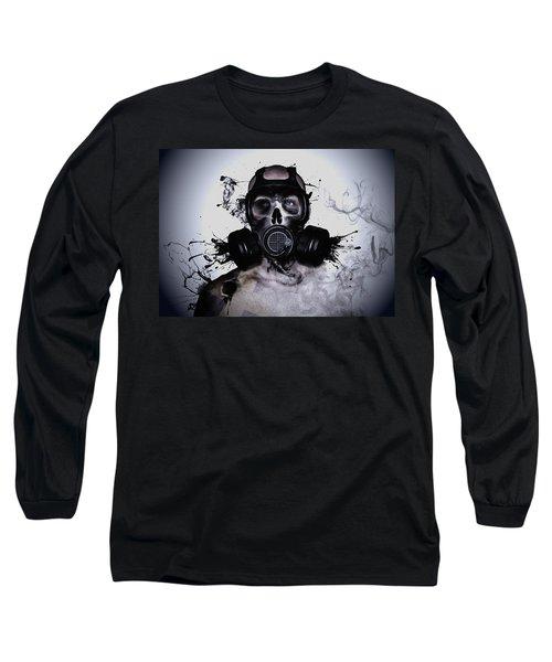 Zombie Warrior Long Sleeve T-Shirt