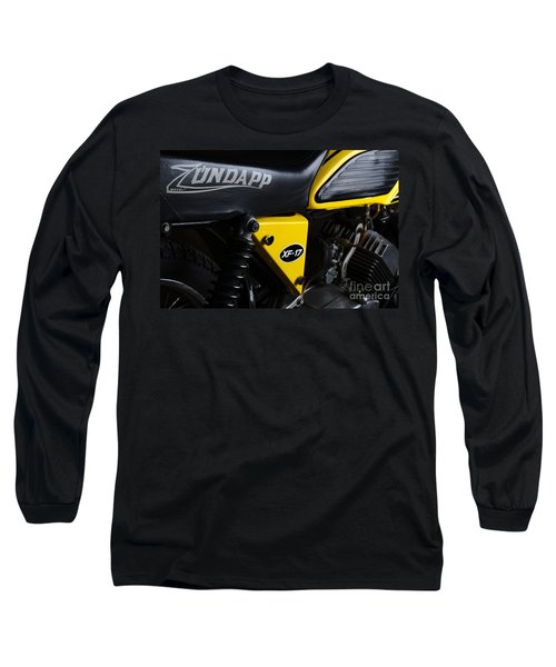 Classic Zundapp Bike Xf-17 Side View Long Sleeve T-Shirt