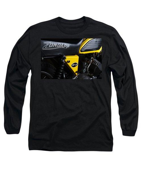 Classic Zundapp Bike Xf-17 Side View Long Sleeve T-Shirt