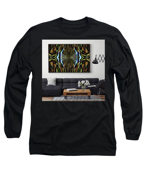 Abstract Caracause Long Sleeve T-Shirt