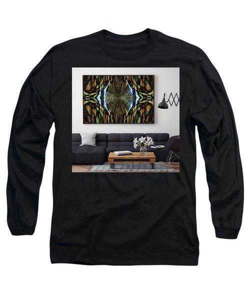 Abstract Caracause Long Sleeve T-Shirt