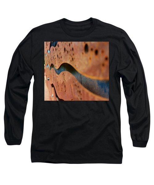 1 Abstract Lake Patricia Sign 3 Long Sleeve T-Shirt