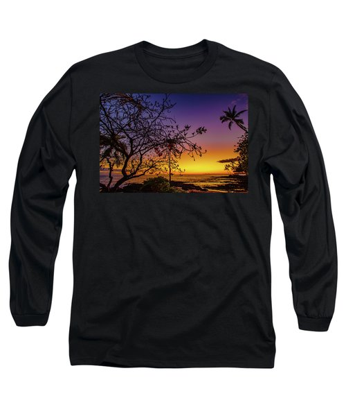 After Sunset Colors Long Sleeve T-Shirt