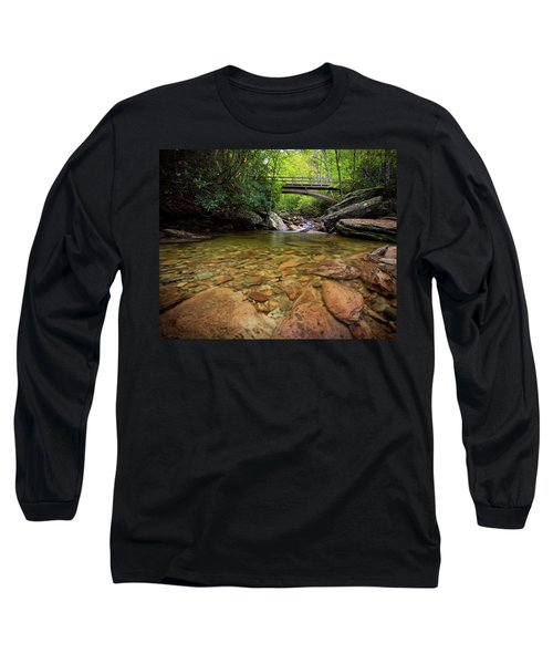 Boone Fork Bridge - Blue Ridge Parkway - North Carolina Long Sleeve T-Shirt