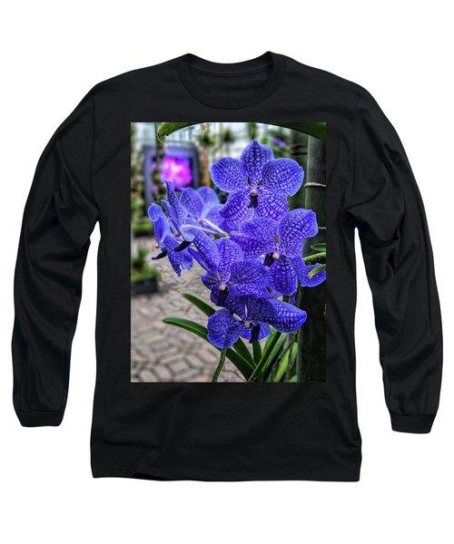 Deep Purple Orchid Long Sleeve T-Shirt