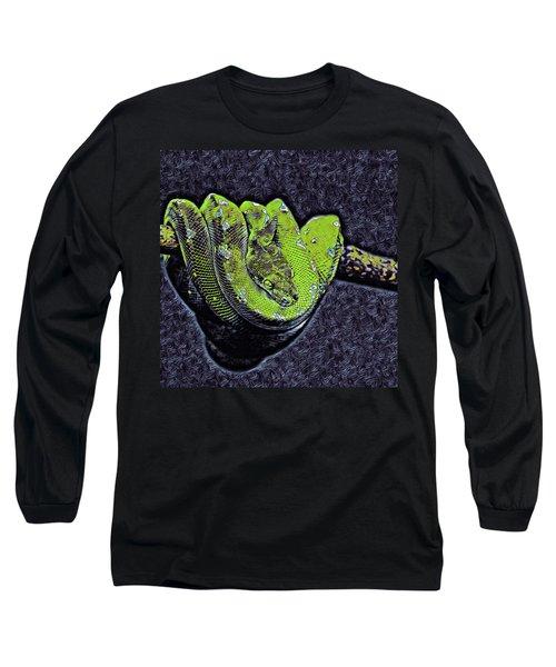 Emerald Tree Boa Long Sleeve T-Shirt