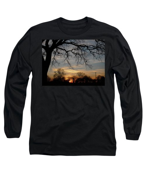 Evening Fades Away Long Sleeve T-Shirt