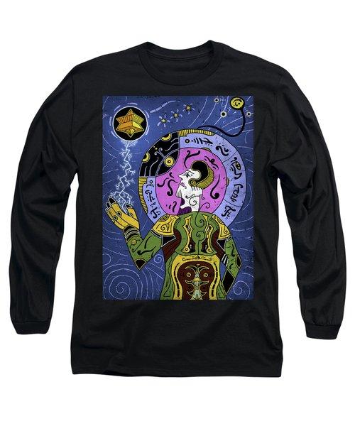 Long Sleeve T-Shirt featuring the digital art Incal by Sotuland Art