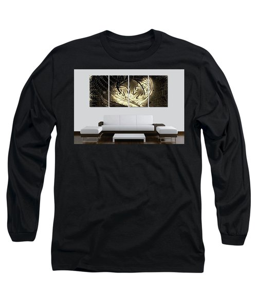 Lady Featured Long Sleeve T-Shirt