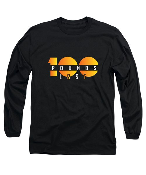 100 Pounds Lost Long Sleeve T-Shirt