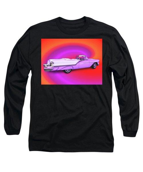 1957 Oldsmobile 98 Starfire Long Sleeve T-Shirt