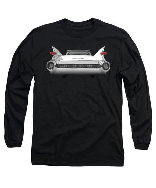 1959 Cadillac Rear View Long Sleeve T-Shirt