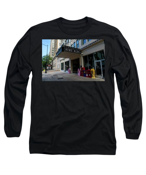 Broad Street Downtown Augusta Ga Long Sleeve T-Shirt