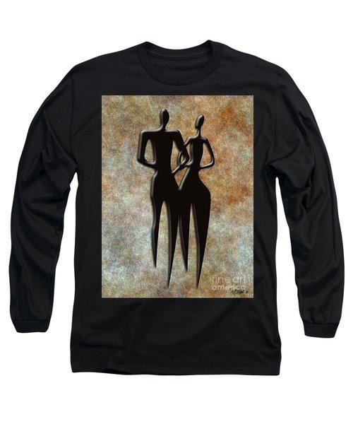 2 People Long Sleeve T-Shirt