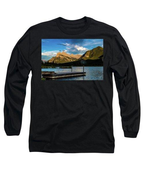 Vermillion Lakes, Banff National Park, Alberta, Canada Long Sleeve T-Shirt