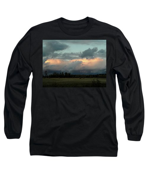 Colossal Country Clouds Long Sleeve T-Shirt